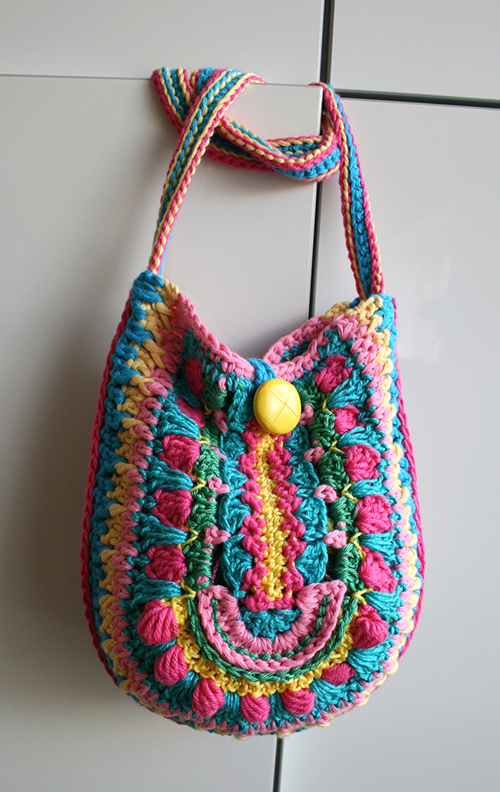Crochet Boho Bag : Allcrochetpatterns.net > patterns > Luz Patternss patterns > Bo...