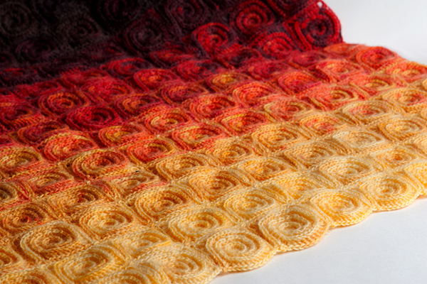 All Crochet Com : Fire blanket crochet pattern - Allcrochetpatterns.net