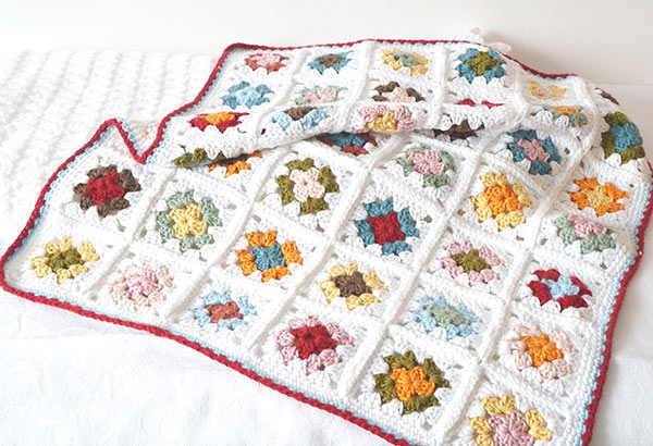 Granny Square Baby Blanket Crochet Pattern Allcrochetpatternsnet