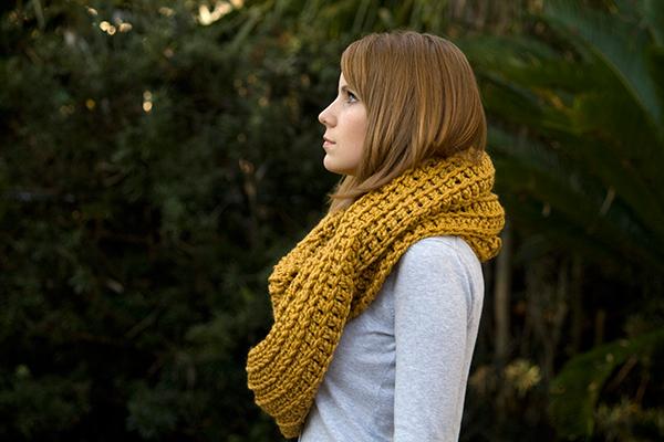 Oversized Infinity Scarf Crochet Pattern Allcrochetpatterns