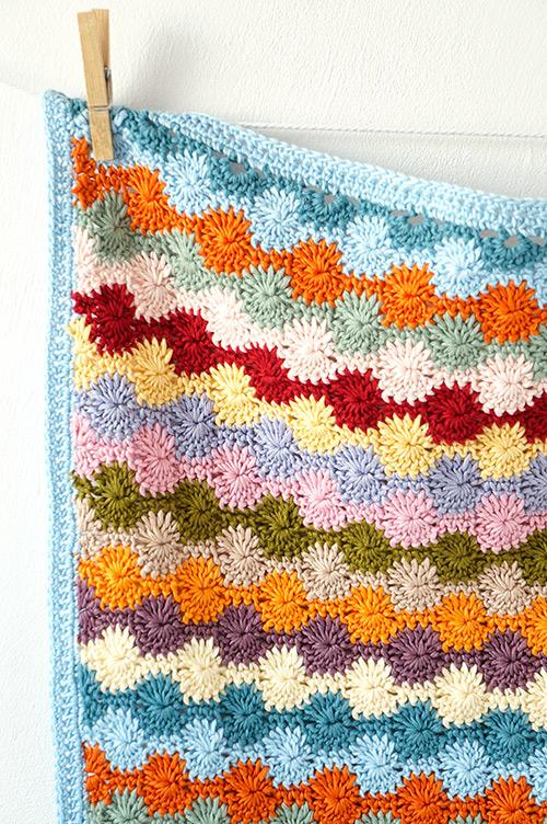 Crochet Stitches Net : Penny baby blanket crochet pattern - Allcrochetpatterns.net