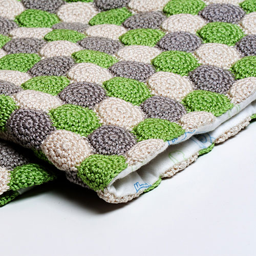 Crochet Stitches Net : Reversible Unisex Blanket crochet pattern - Allcrochetpatterns.net