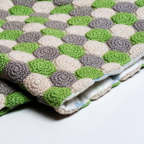 Crochet Stitches Net : Reversible Unisex Blanket crochet pattern - Allcrochetpatterns.net
