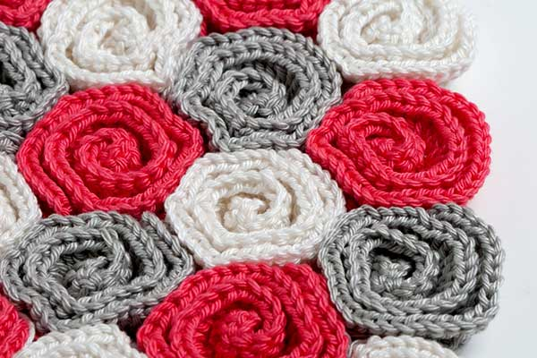 Free Crochet Pattern Rose Field : Crochet Rose Blanket Pattern galleryhip.com - The ...