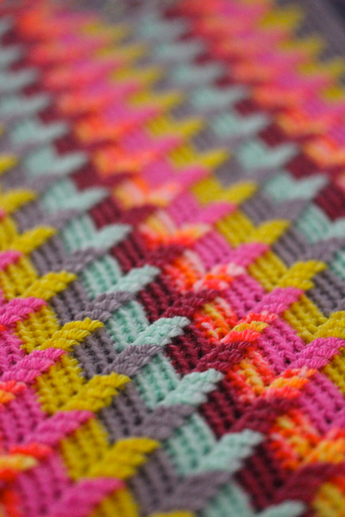 How To Crochet Apache Tears Pattern For Blanket : Apache tears blanket - Free crochet pattern