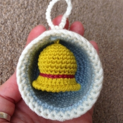 Christmas Bauble Ornaments, Tree & Bell crochet by Laura Loves Crochet
