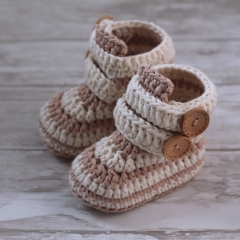 Caleb Boot crochet by Inventorium
