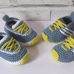 Federation runners crochet by Inventorium