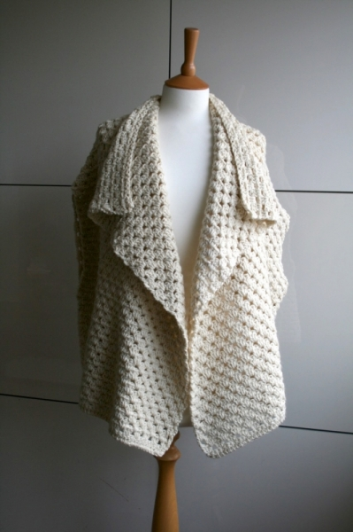 Boho granny square jacket crochet pattern ...