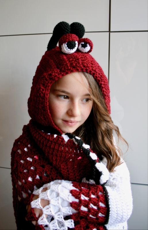 Hooded Blankets Collection Crochet Pattern