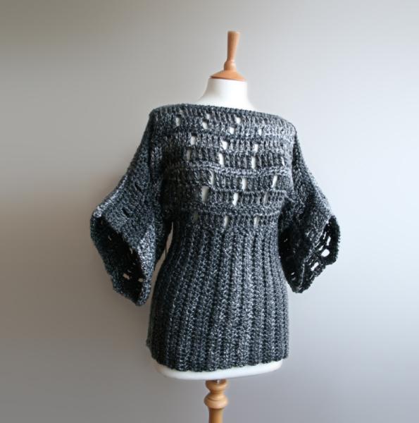 Kimono Poncho Crochet Pattern Allcrochetpatternsnet