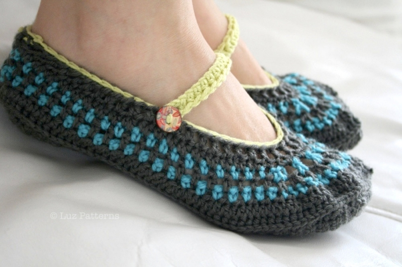 Mary Jane Slippers Adult Crochet Pattern Allcrochetpatternsnet