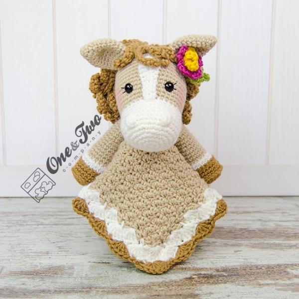 Haley The Horse Lovey Crochet Pattern Allcrochetpatternsnet