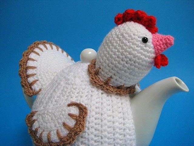 Tea Cosy Chicken Easter Crochet Pattern Allcrochetpatterns