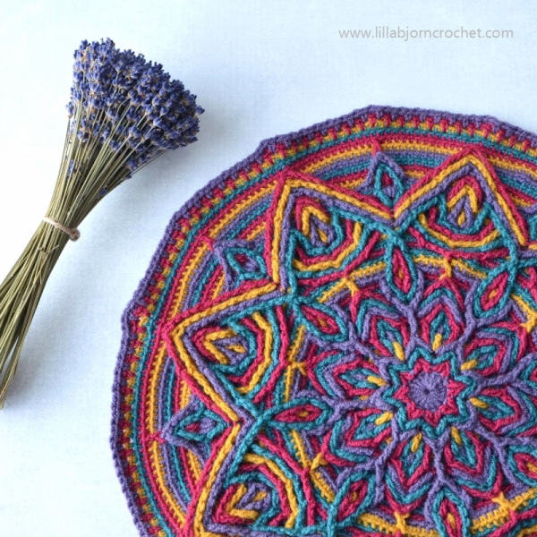 Illusion Mandala Crochet Pattern Allcrochetpatterns Net