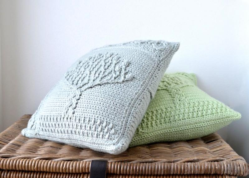 Tree Of Life Pillow Crochet Pattern Allcrochetpatterns Net