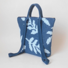 Leaves Backpack crochet by Chabepatterns
