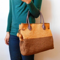 Two sizes bag crochet by Chabepatterns