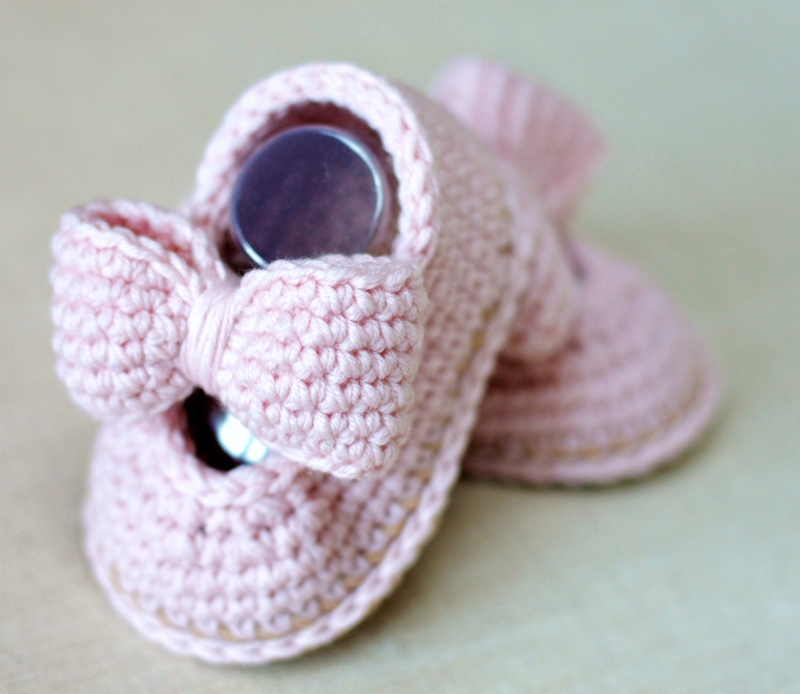 Baby Bow Shoes Crochet Pattern Allcrochetpatternsnet