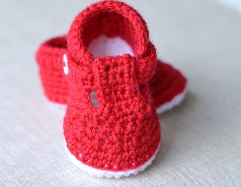 T Bar Shoes Crochet