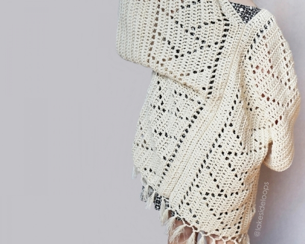 ... .net > patterns > Lakeside Loopss patterns > Kenzie Kimono ...