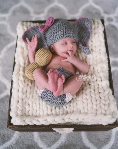 Elephant Baby Crochet Pattern - Briana K Designs | 600x475