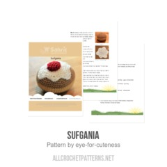 Sufgania crochet pattern by eye for cuteness