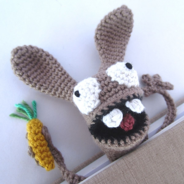 Amigurumi Bunny Bookmark crochet pattern ...