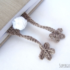 Amigurumi Bunny Bookmark crochet by Supergurumi