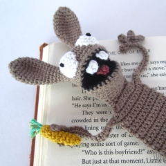 Amigurumi Bunny Bookmark crochet pattern by Supergurumi