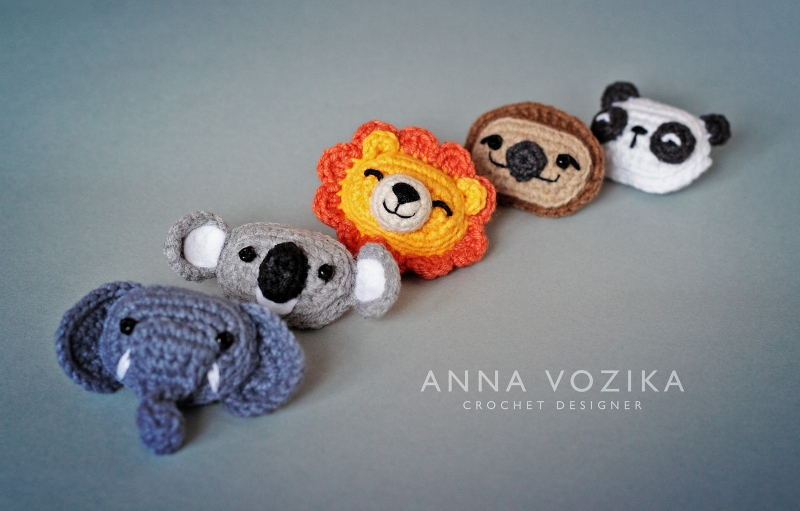 Crochet Pattern - INSTANT PDF DOWNLOAD - Zoo Animals - Crochet Zoo ... | 511x800