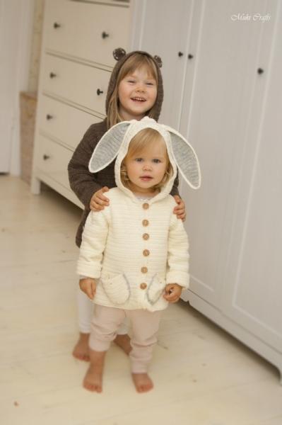Bunny Or Bear Cardigan Otis Crochet Pattern Allcrochetpatterns