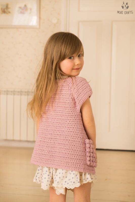 Clara Sleeveless Cardigan Crochet Pattern Allcrochetpatternsnet