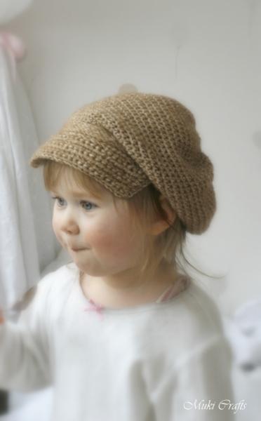 Gavroche Newsboy Hat Crochet Pattern Allcrochetpatterns