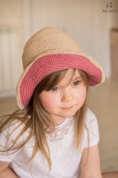 Samatha Brimmed Hat Crochet Pattern Allcrochetpatterns