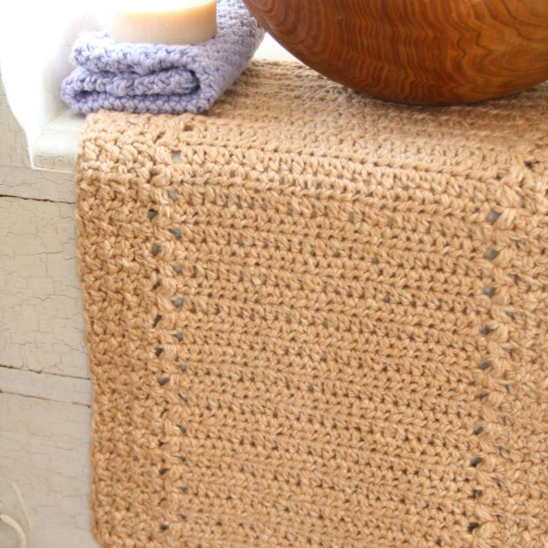 River\'s Edge Dishcloth and Hand Towel Set crochet pattern ...