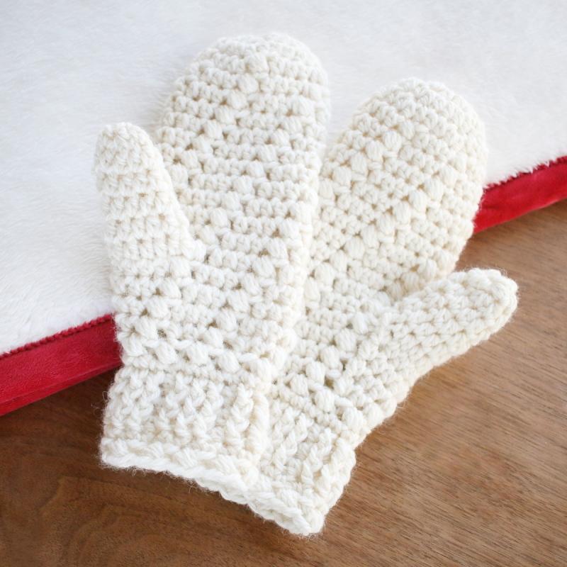 Snow Spell Mittens Crochet Pattern Allcrochetpatterns