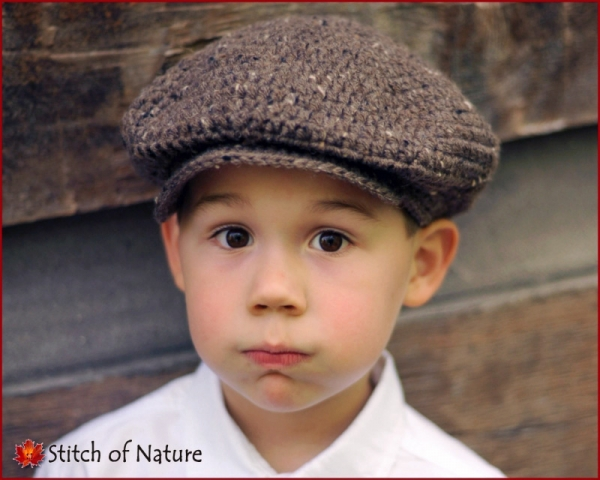 The Belmont Scally Cap (Newsboy Hat) crochet pattern ...