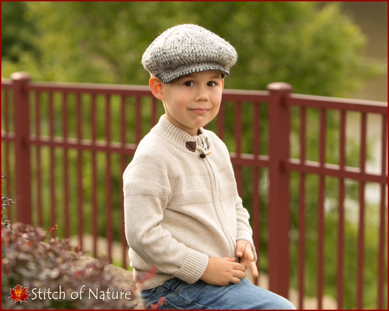 The Byron Scally Cap (Newsboy Hat) crochet pattern by Stitch of Nature d78e79d56c41