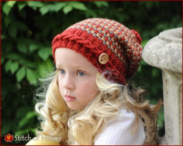 The Claiborne Slouchy Hat Crochet Pattern Allcrochetpatterns