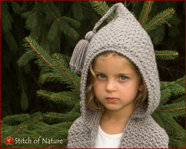 The Elwood Hooded Scarf Crochet Pattern Allcrochetpatternsnet
