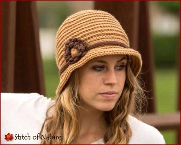 The Lexington Brimmed Hat 1920s Hat Crochet Pattern