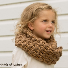 The Oakland Infinity Scarf crochet pattern by Stitch of Nature