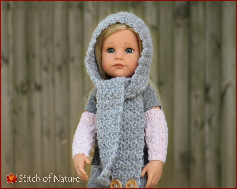 The Philadelphia Hooded Scarf Crochet Pattern Allcrochetpatterns