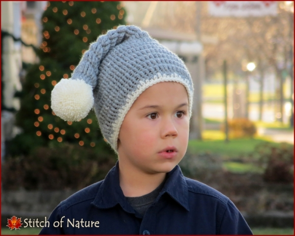 The Polaris Stocking Hat crochet pattern - Allcrochetpatterns.net 3df2e4b1180