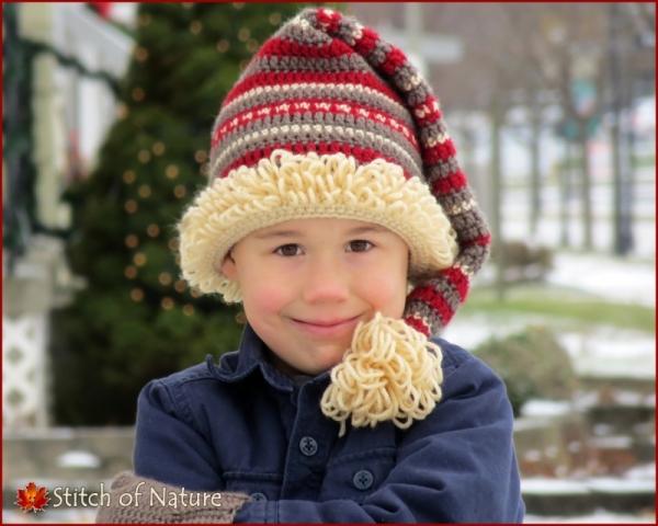 The Snowland Stocking Hat Crochet Pattern Allcrochetpatterns