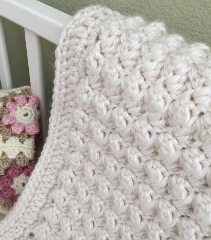 Chunky Baby Blanket Crochet Pattern Allcrochetpatterns