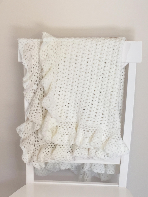 Heirloom Lace Baby Blanket Crochet Pattern Allcrochetpatterns