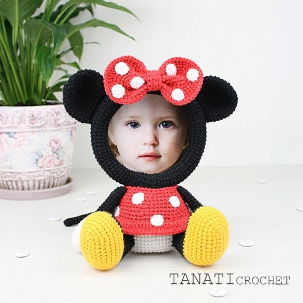 Photo Frame Minnie Mouse Crochet Pattern Allcrochetpatternsnet