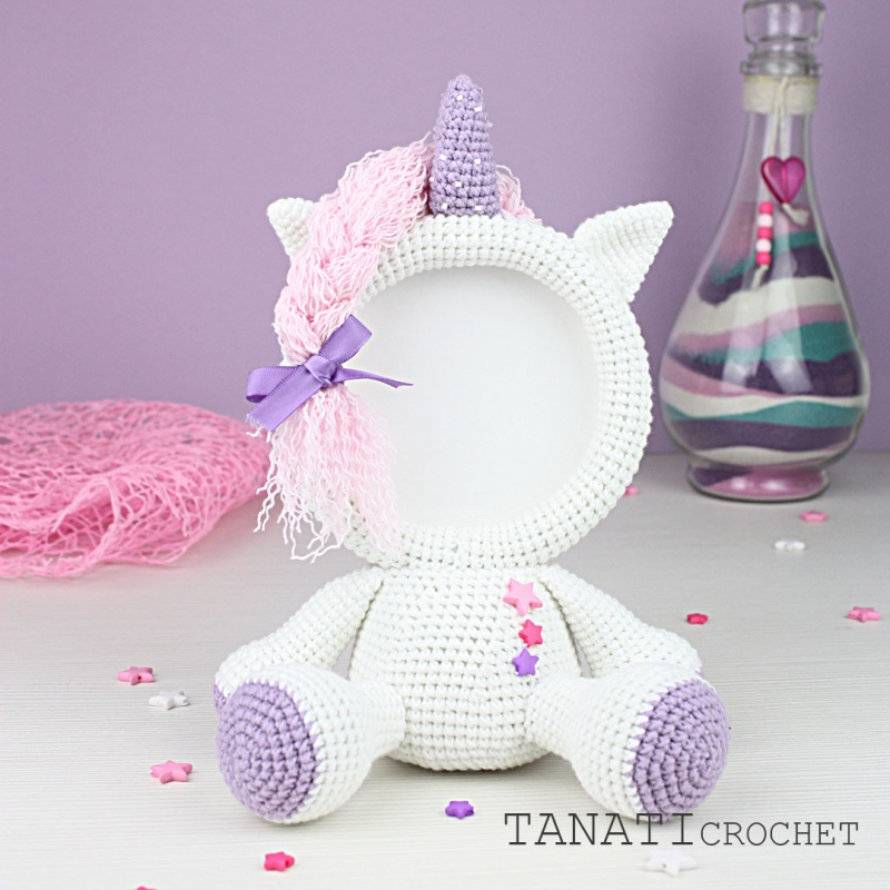 Photo Frame Unicorn Crochet Pattern Allcrochetpatternsnet Awesome Unicorn Crochet Pattern